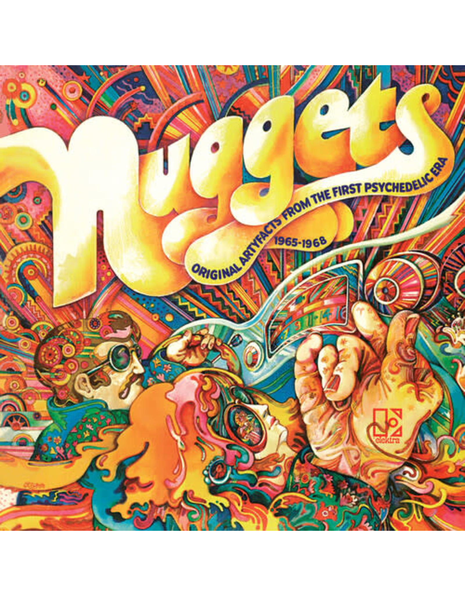 New Vinyl Various - Nuggets: Original Artyfacts From The First Psychedelic Era 1965-1968 2LP