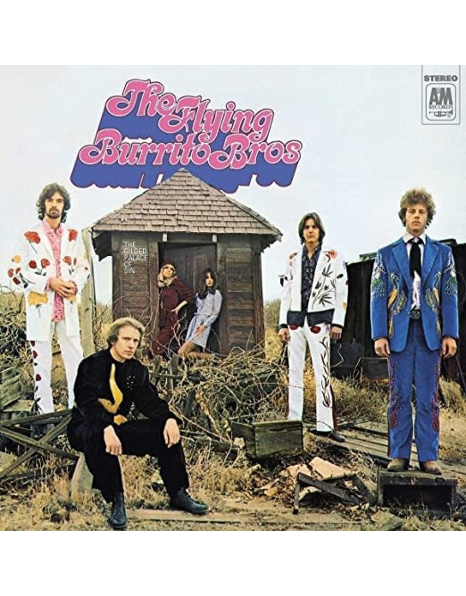 New Vinyl Flying Burrito Brothers - The Gilded Palace Of Sin LP