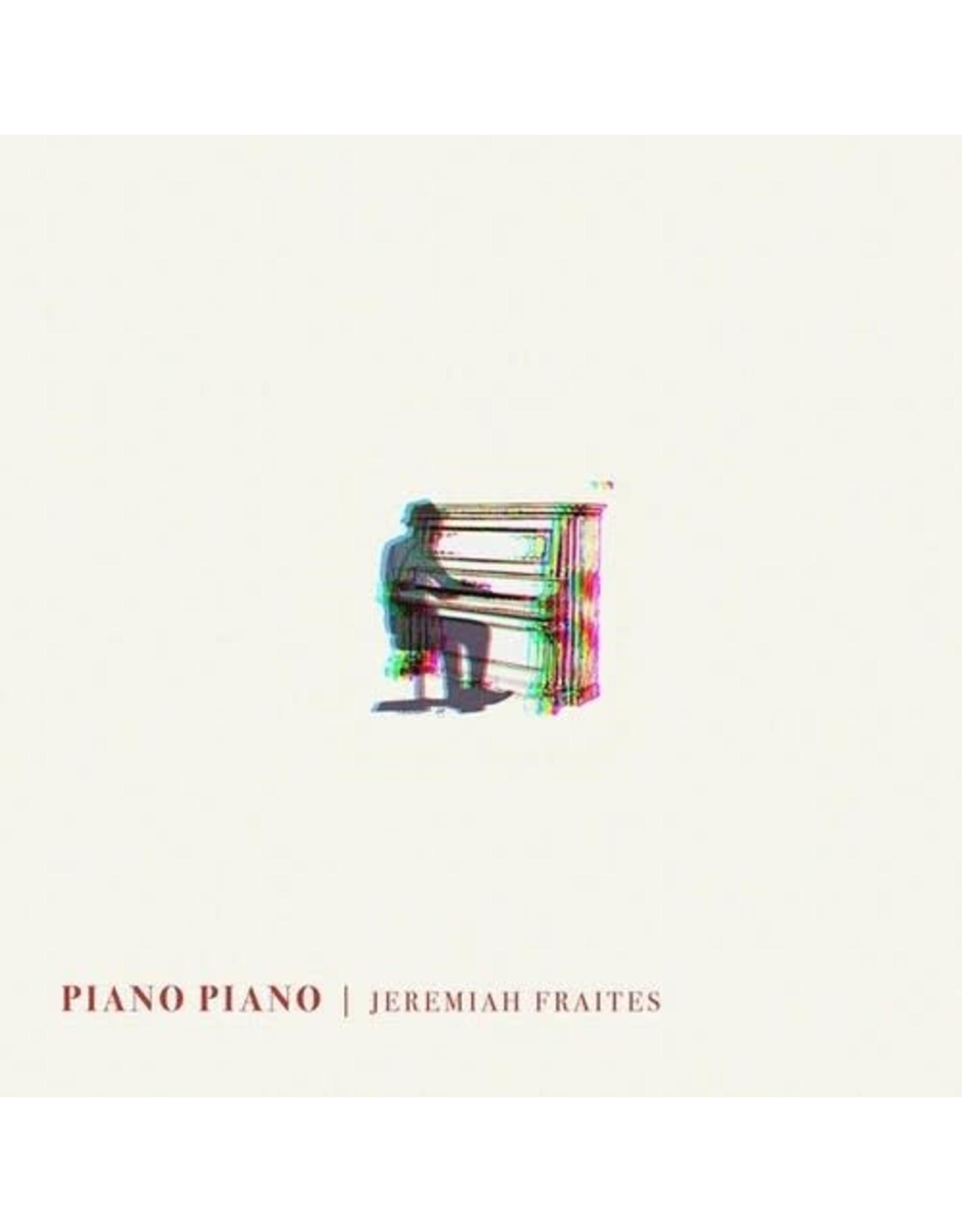 New Vinyl Jeremiah Fraites - Piano Piano LP