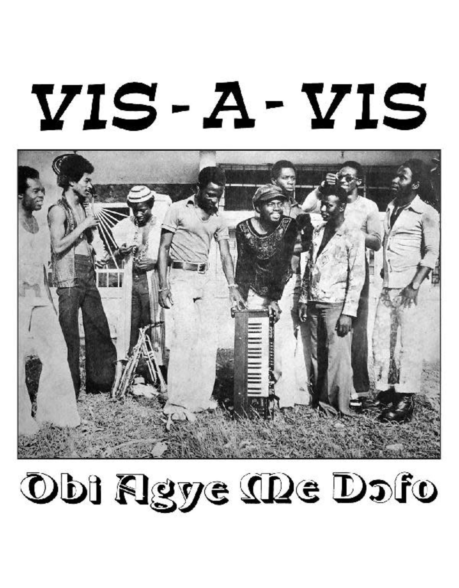 New Vinyl Vis-A-Vis - Obi Agye Me Dofo LP