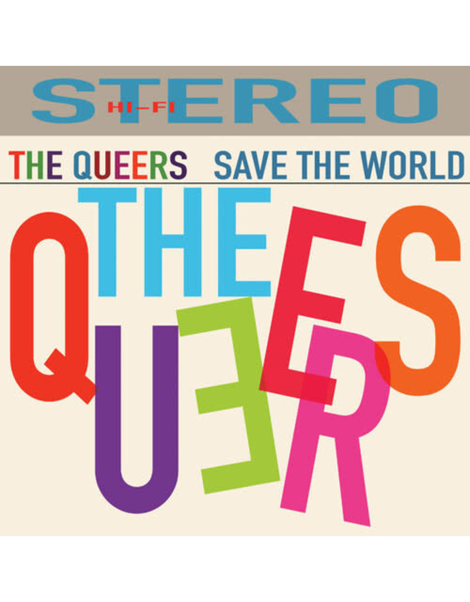 New Vinyl The Queers - Save The World LP