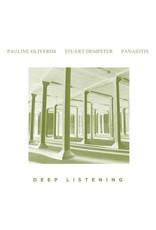 New Vinyl Pauline Oliveros / Stuart Dempster / Panaiotis - Deep Listening 2LP