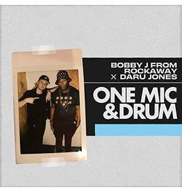 New Vinyl Bobby J From Rockaway x Daru Jones - One Mic & Drum Breakstrumentals LP