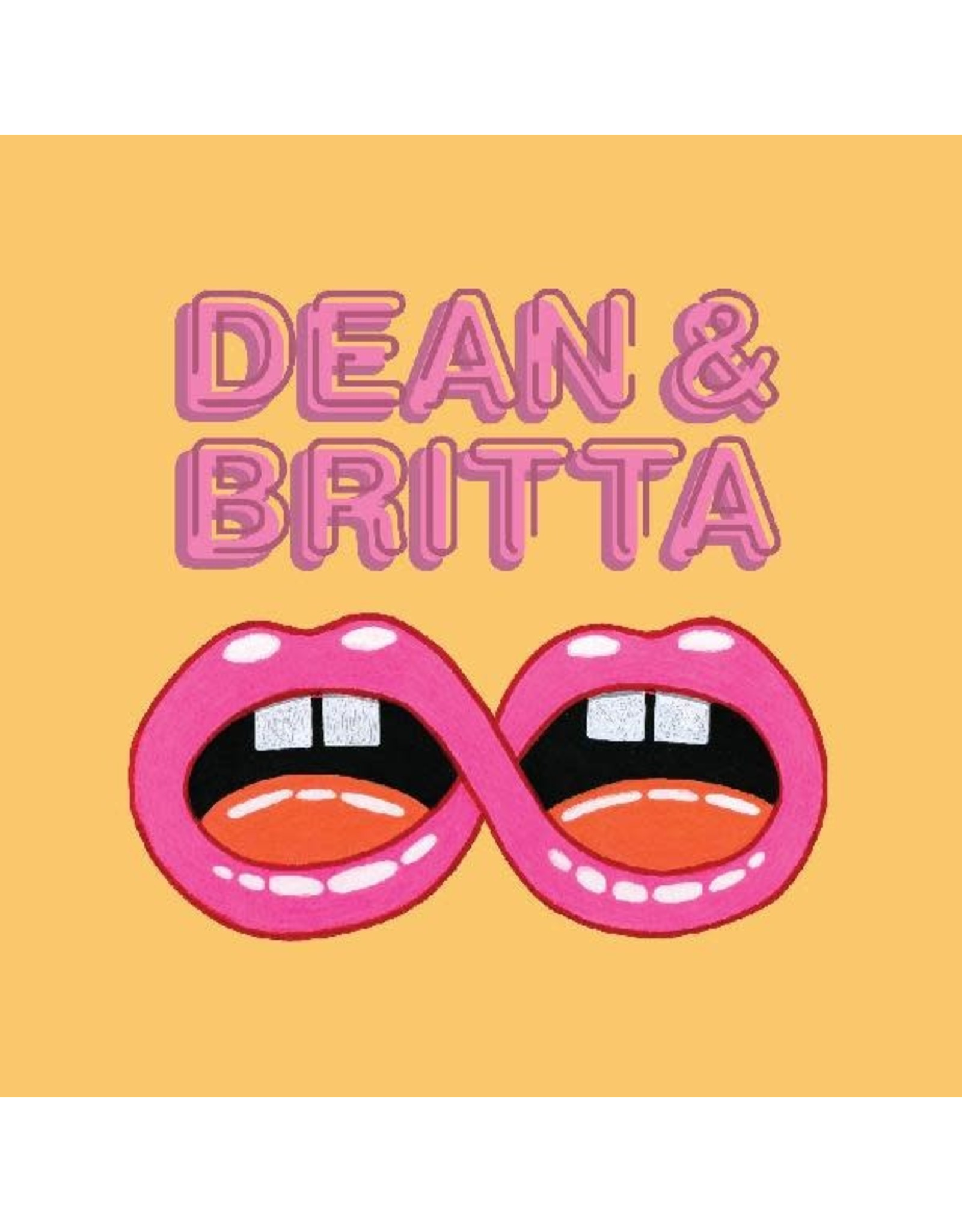 """New Vinyl Dean & Britta - Neon Lights EP 12"""""""