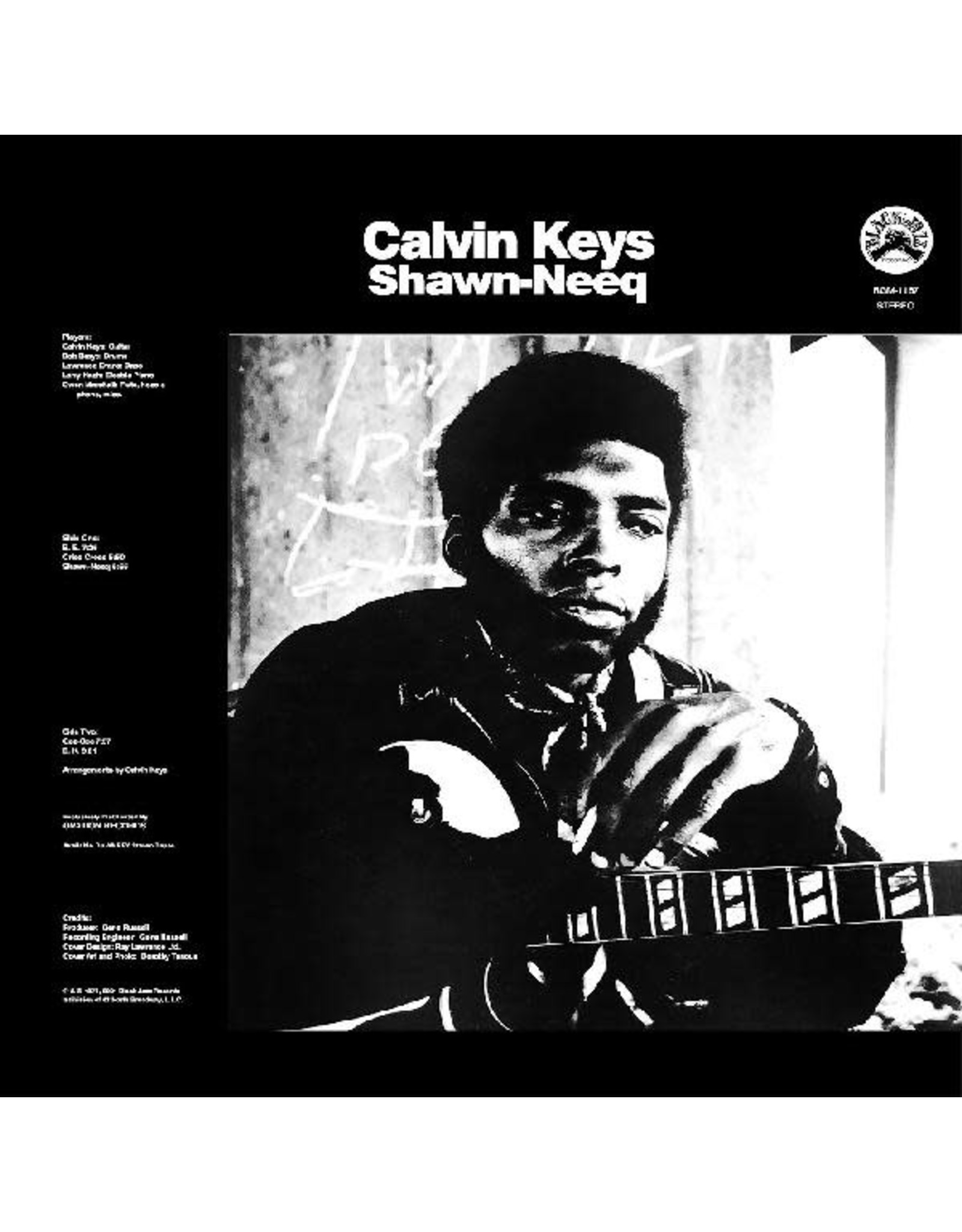 New Vinyl Calvin Keys - Shawn-Neeq LP