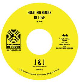 """New Vinyl J&J - Great Big Bundle Of Love / I Think You Got Your Fools Mixed Up 7"""""""