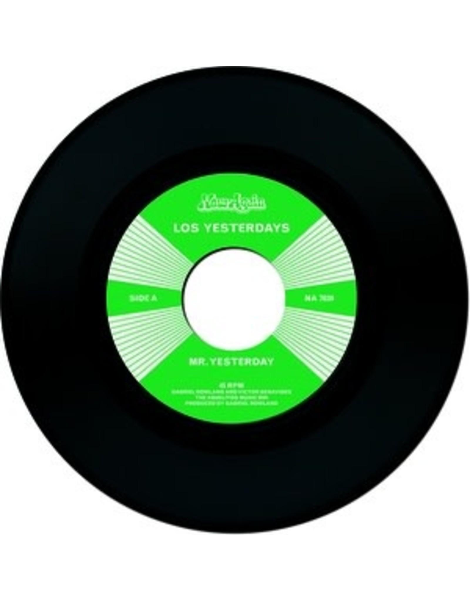 """New Vinyl Los Yesterdays - Mr. Yesterday / So Insincere 7"""""""