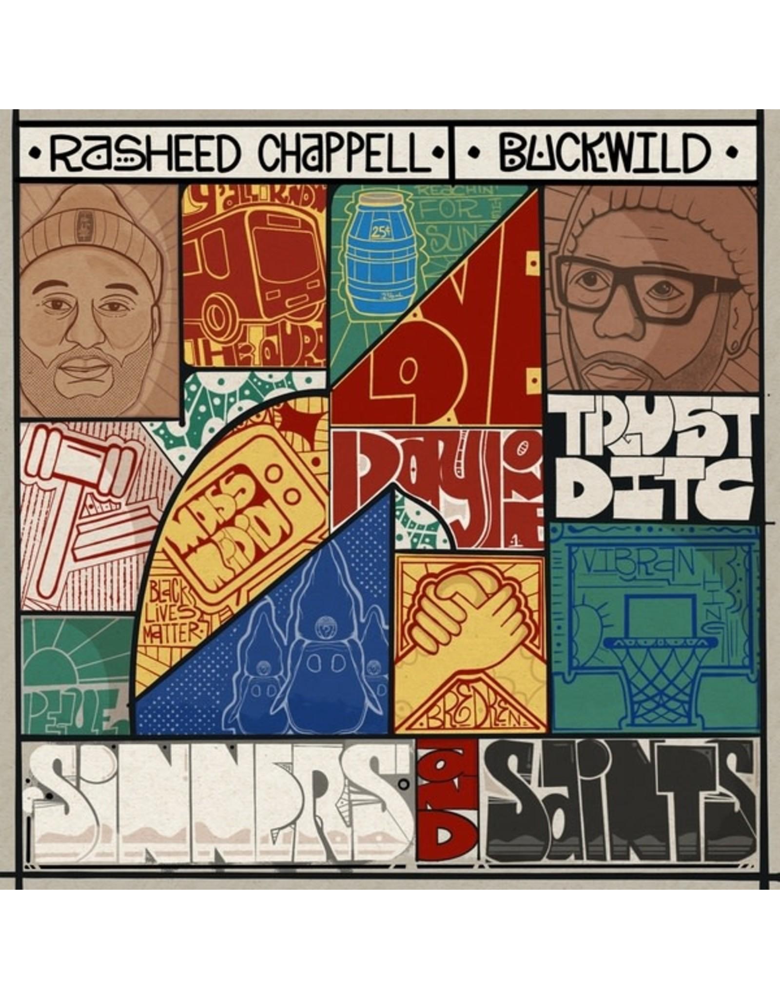 New Vinyl Rasheed Chappell & Buckwild - Sinners And Saints LP