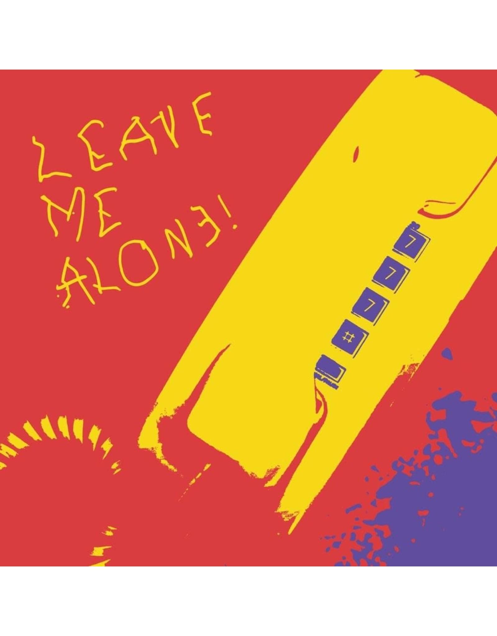 "New Vinyl Boy Pablo - Leave Me Alone! (Clear) 7"""