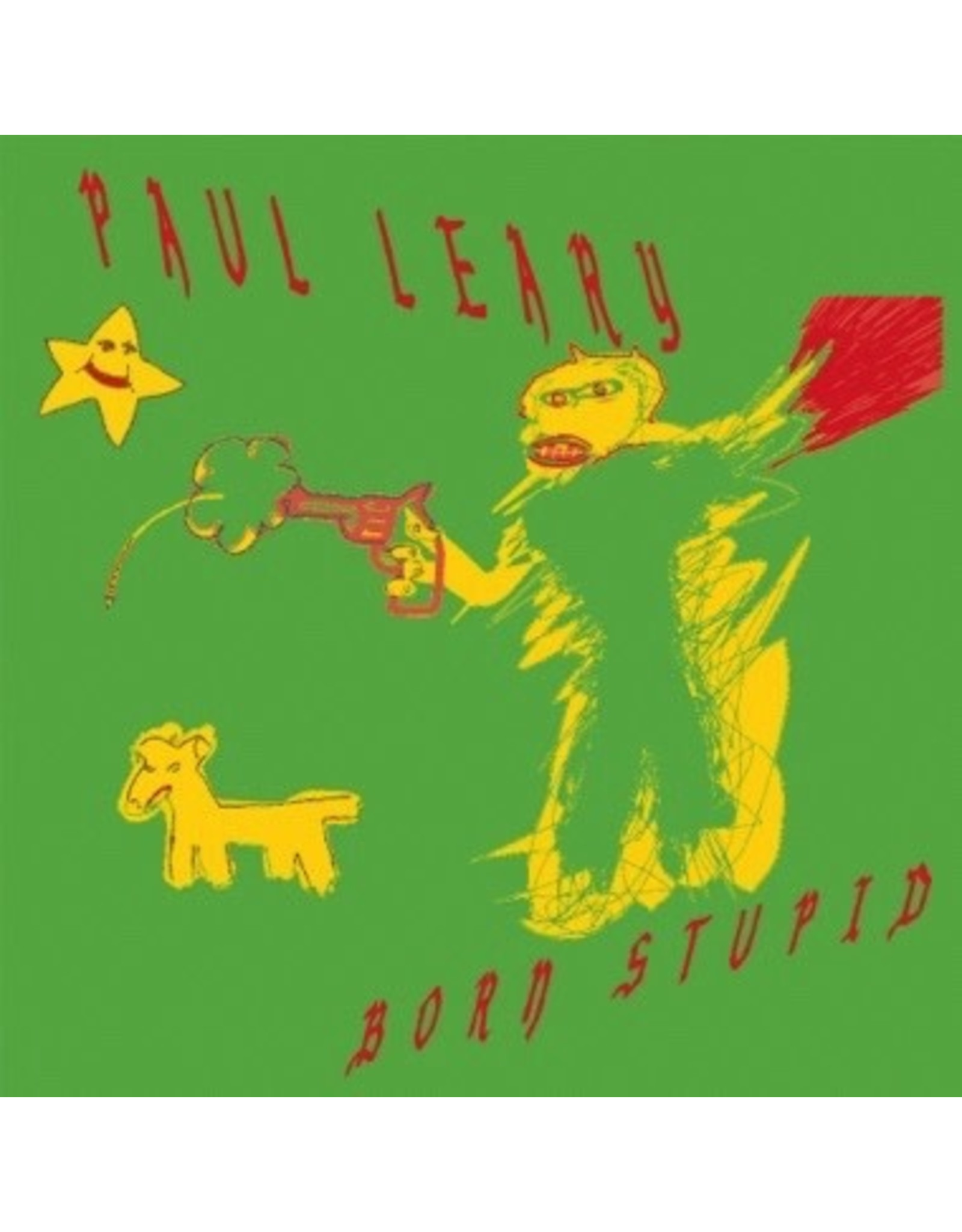 New Vinyl Paul Leary - Born Stupid (Colored) LP