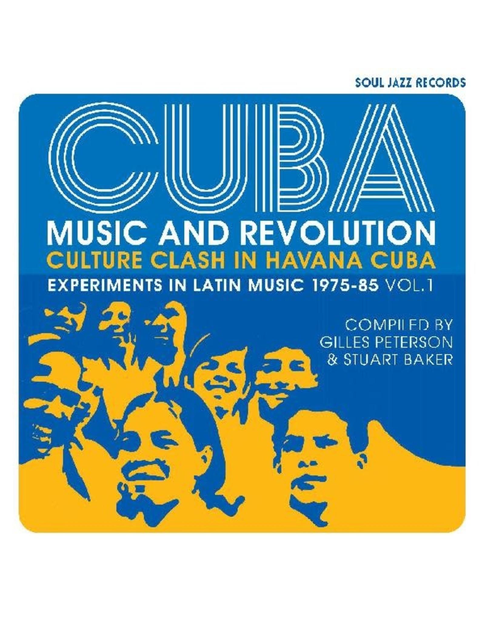 New Vinyl Various - CUBA: Music And Revolution - Culture Clash In Havana: Experiments In Latin Music 1975-85 Vol. 1 3LP