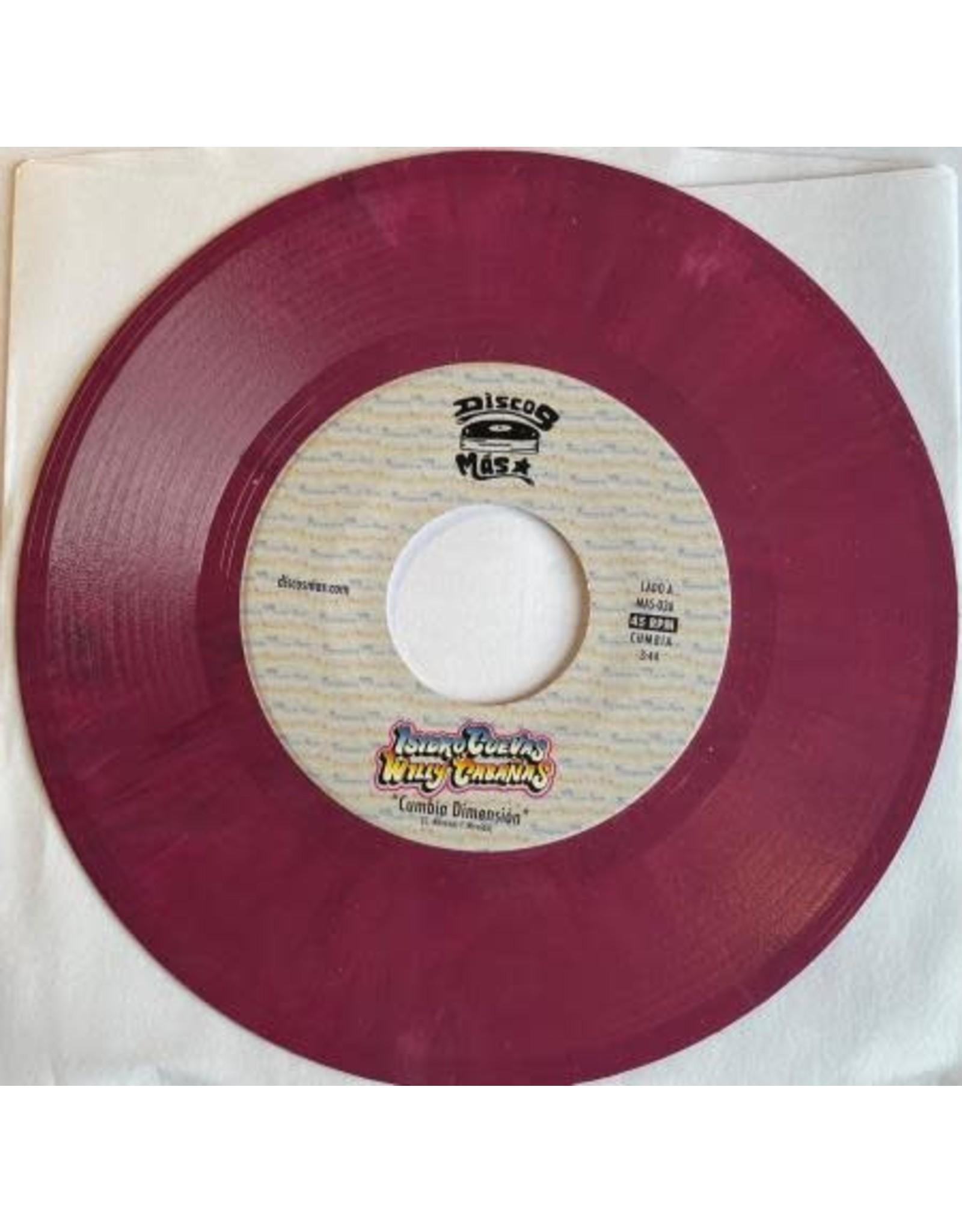"New Vinyl Isidro Cuevas y Willie Cabañas - Cumbia Dimension / Tu Selva 7"""