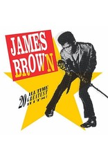 New Vinyl James Brown - 20 All-Time Greatest Hits 2LP