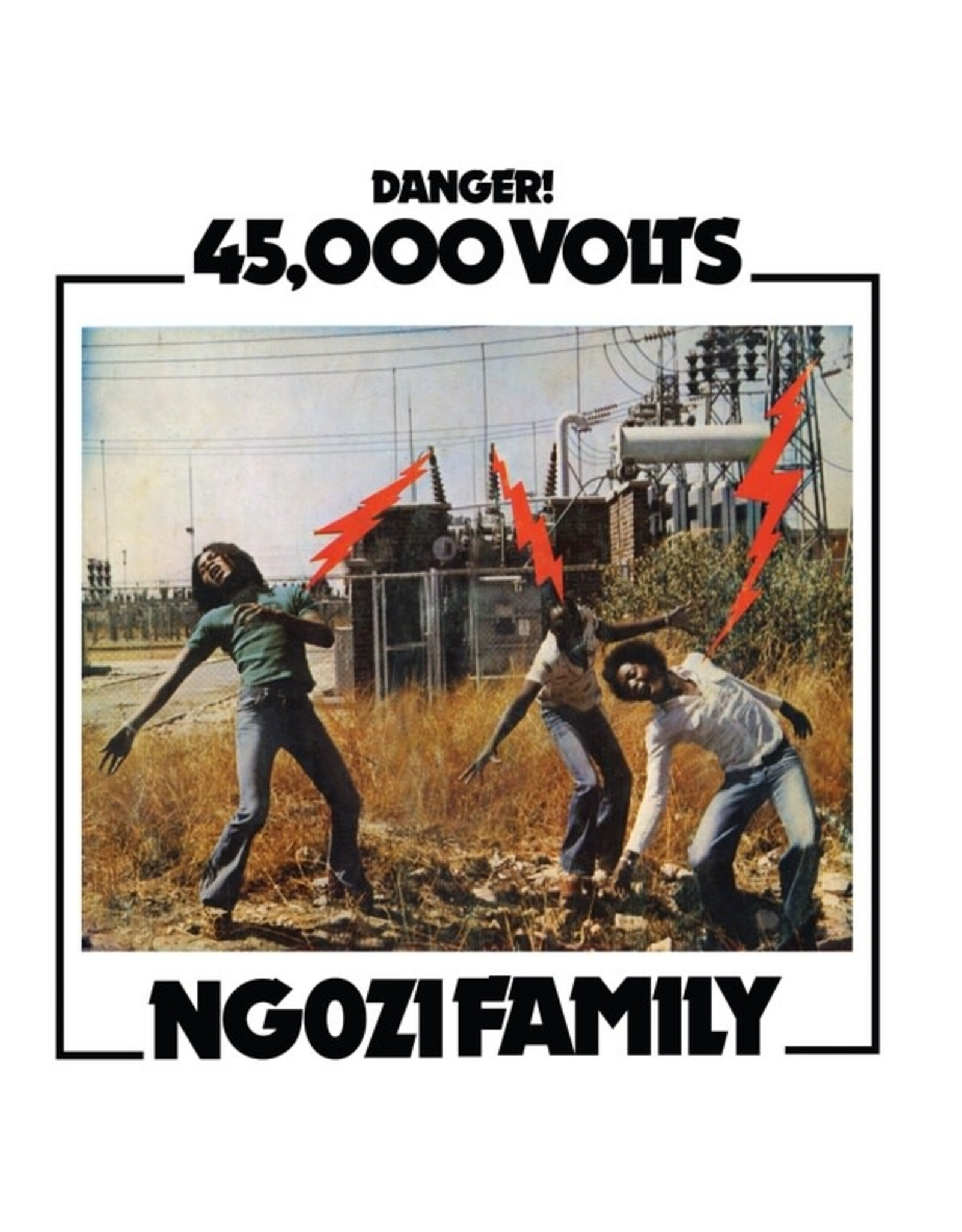 New Vinyl Ngozi Family - 45,000 Volts LP