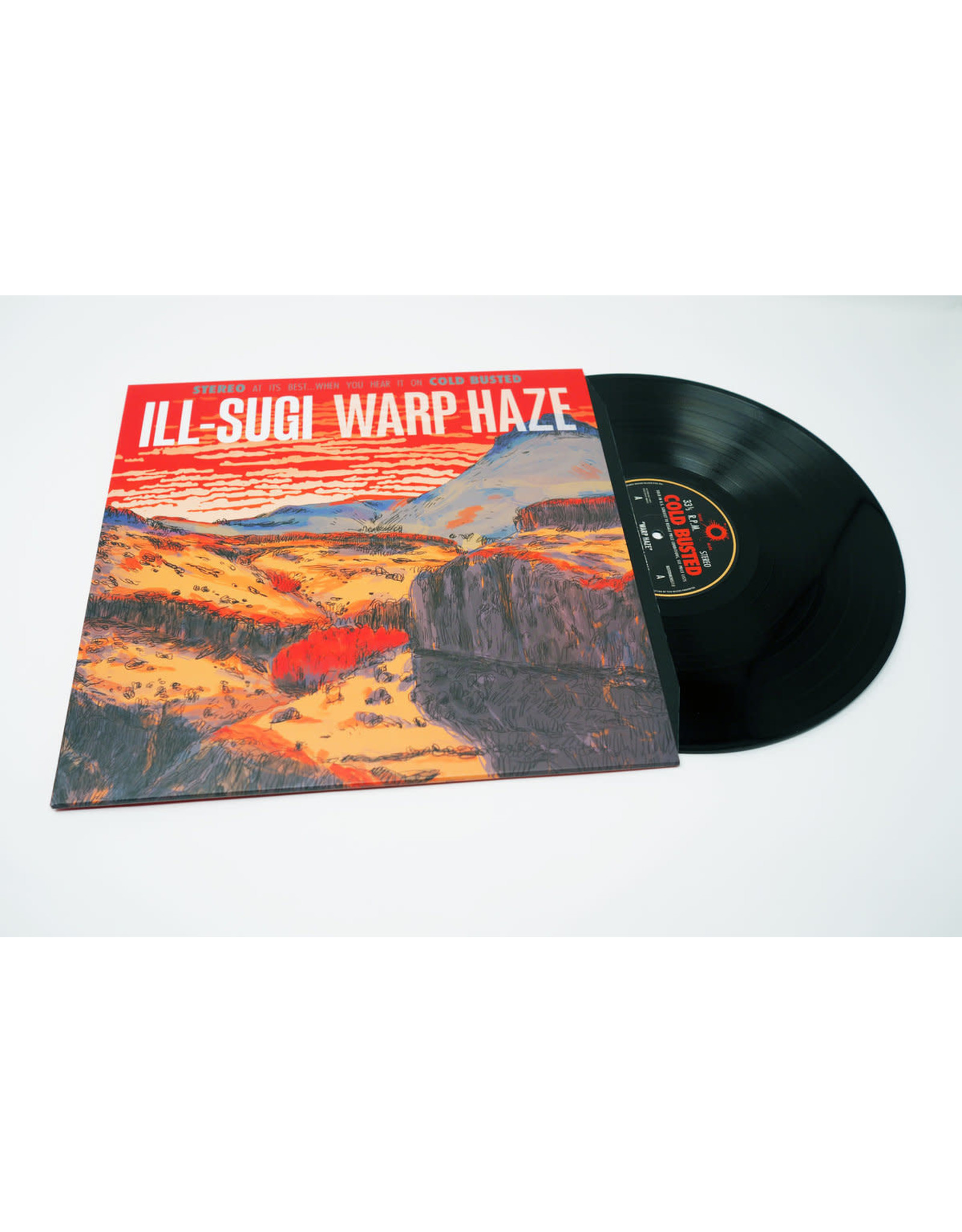 New Vinyl Ill-Sugi - Warp Haze LP