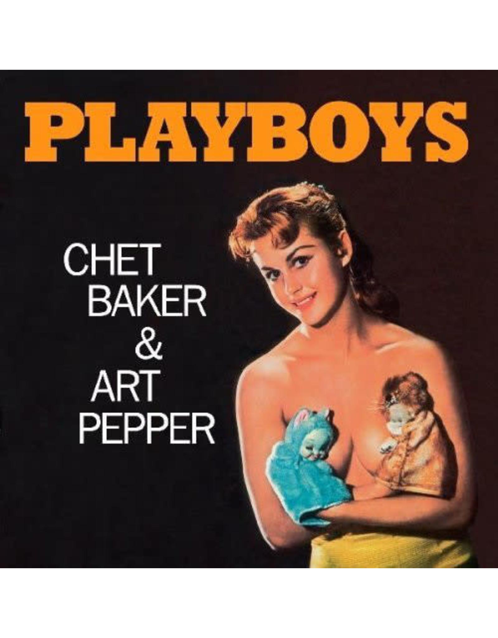 New Vinyl Chet Baker & Art Pepper - Playboys LP