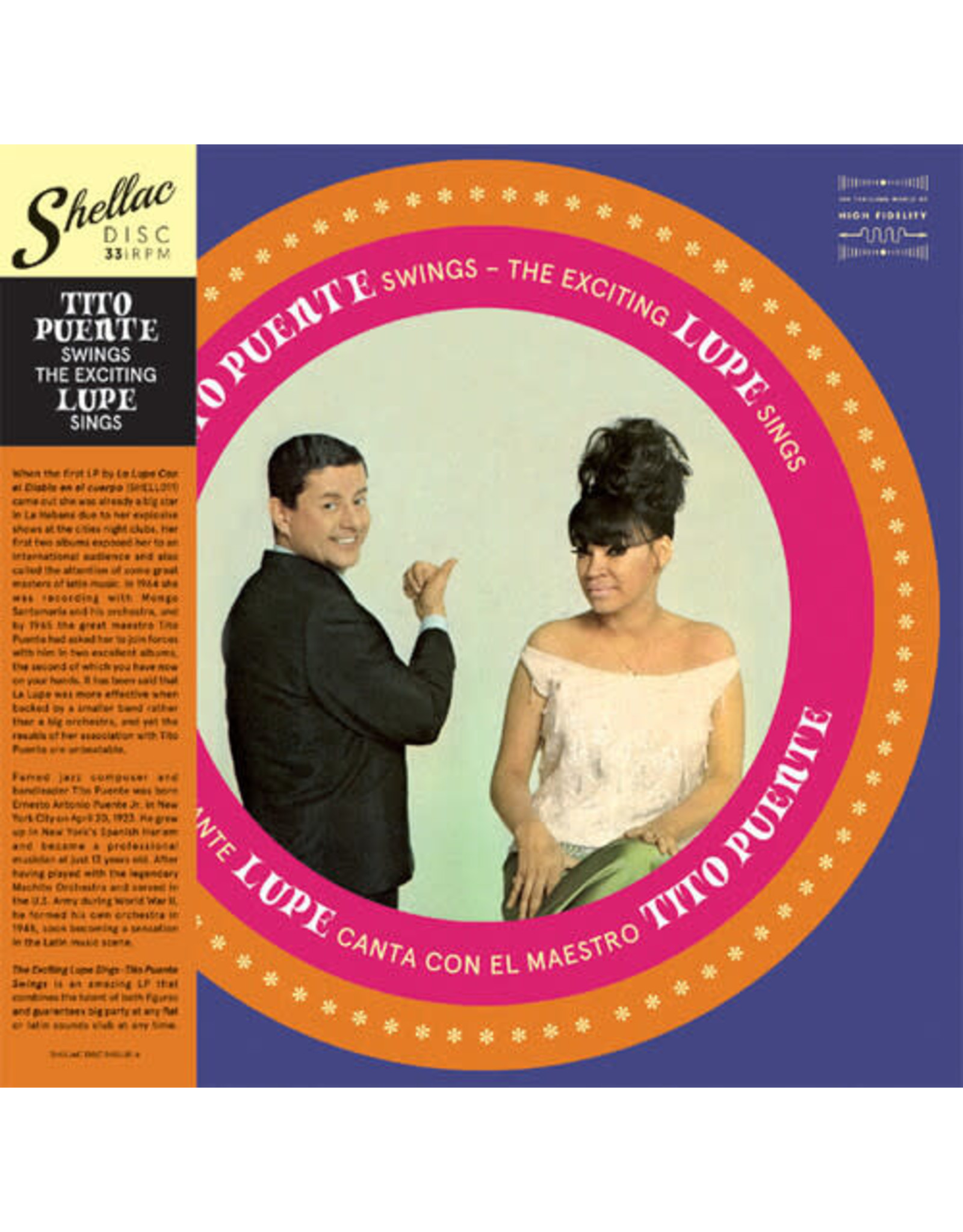 New Vinyl La Lupe / Tito Puente - Tito Puente Swings The Exciting Lupe Sings LP