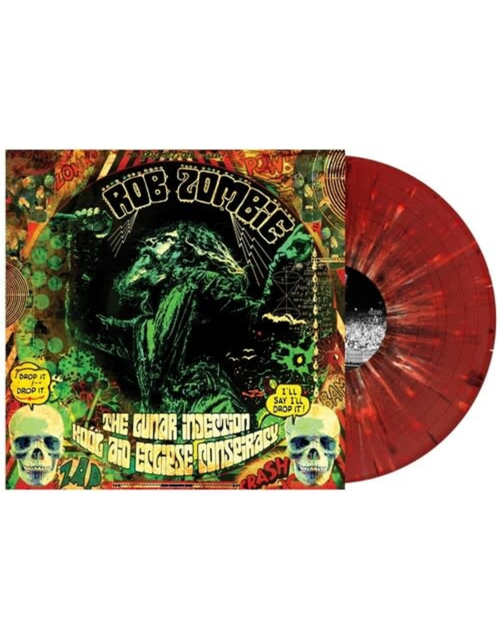 New Vinyl Rob Zombie - The Lunar Injection Kool Aid Eclipse Conspiracy (Colored) LP