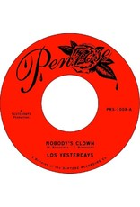"""New Vinyl Los Yesterdays - Nobody's Clown b/w Give Me One More Chance 7"""""""