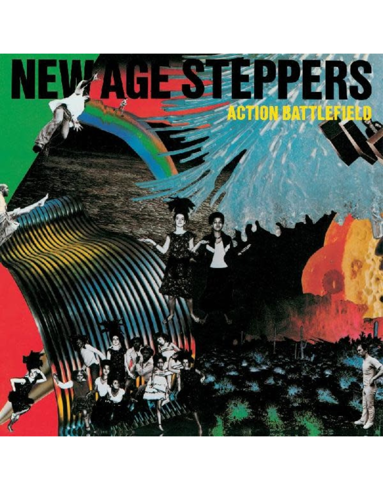 New Vinyl New Age Steppers - Action Battlefield LP