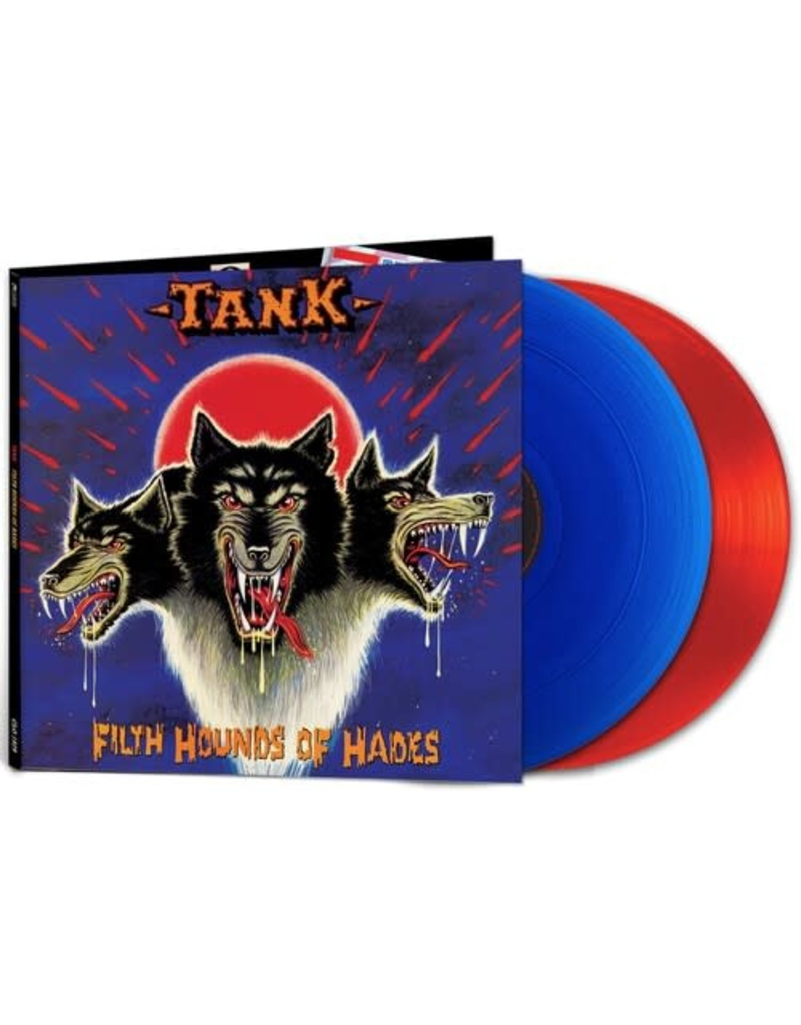 New Vinyl Tank - Filth Hounds Of Hades (Colored) 2LP