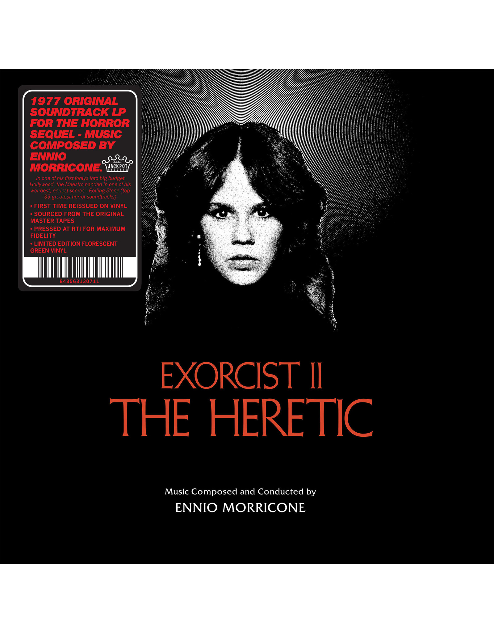 New Vinyl Ennio Morricone - Exorcist II: The Heretic OST (Colored) LP