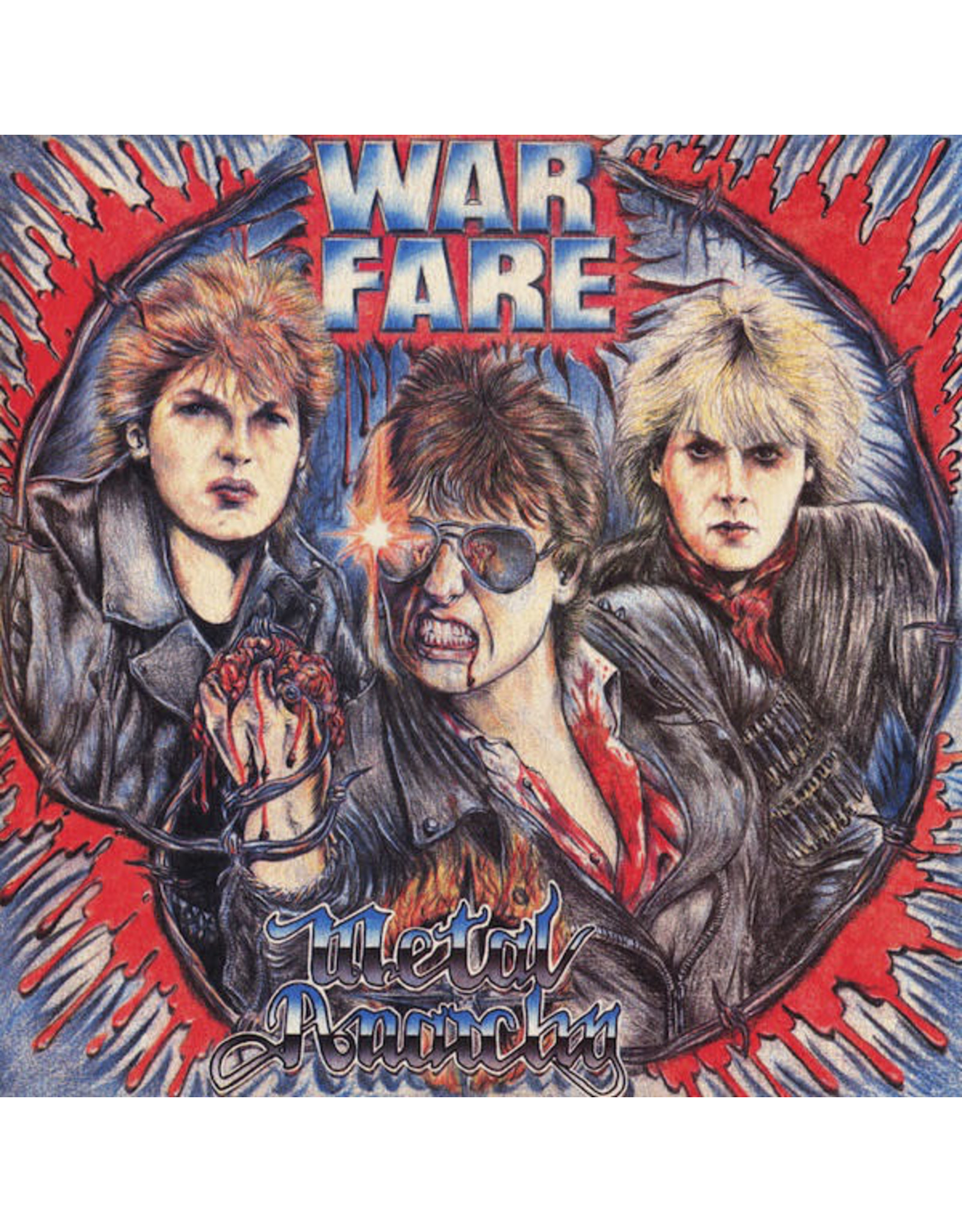 New Vinyl Warfare - Metal Anarchy LP