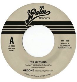 """New Vinyl Orgone - It's My Thing: You Can't Tell Me Who To Sock It To (Sky Blue) 7"""""""