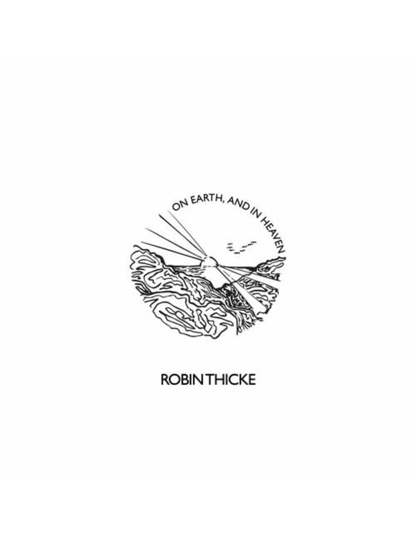 New Vinyl Robin Thicke - On Earth, And In Heaven LP