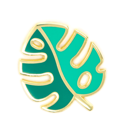 Enamel Pin Monstera Leaf Pin