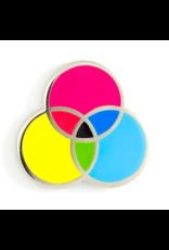 Enamel Pin CMYK Enamel Pin