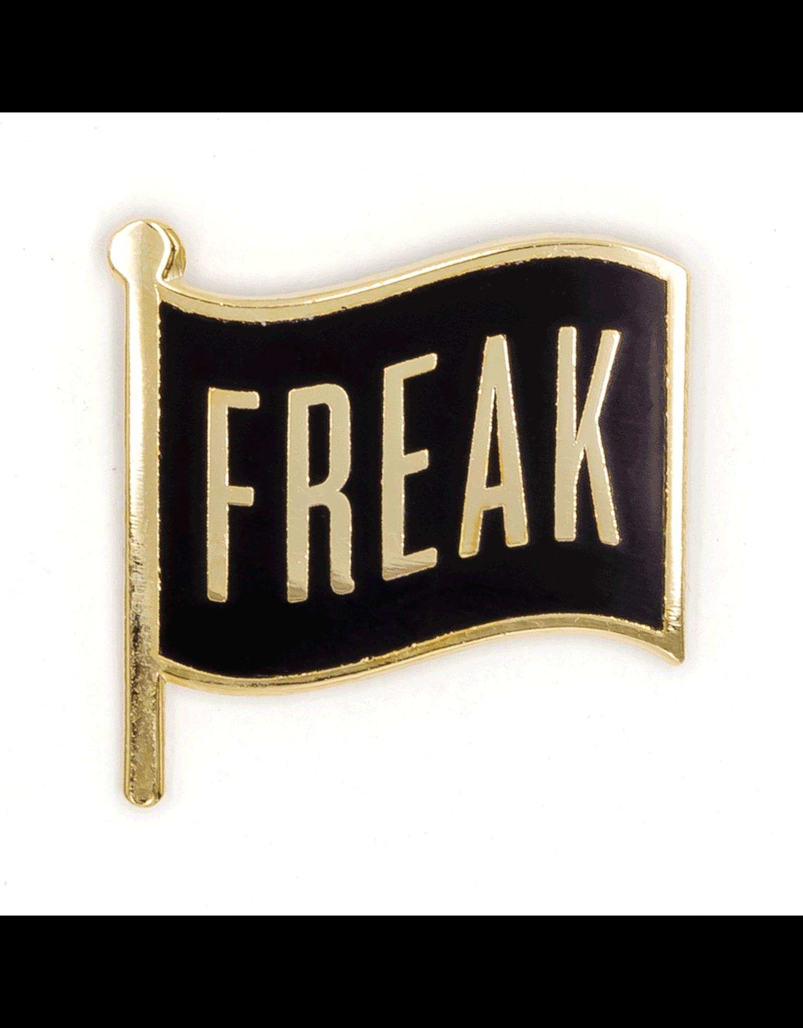 Enamel Pin Freak Flag Enamel Pin