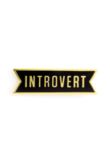 Enamel Pin Introvert Enamel Pin
