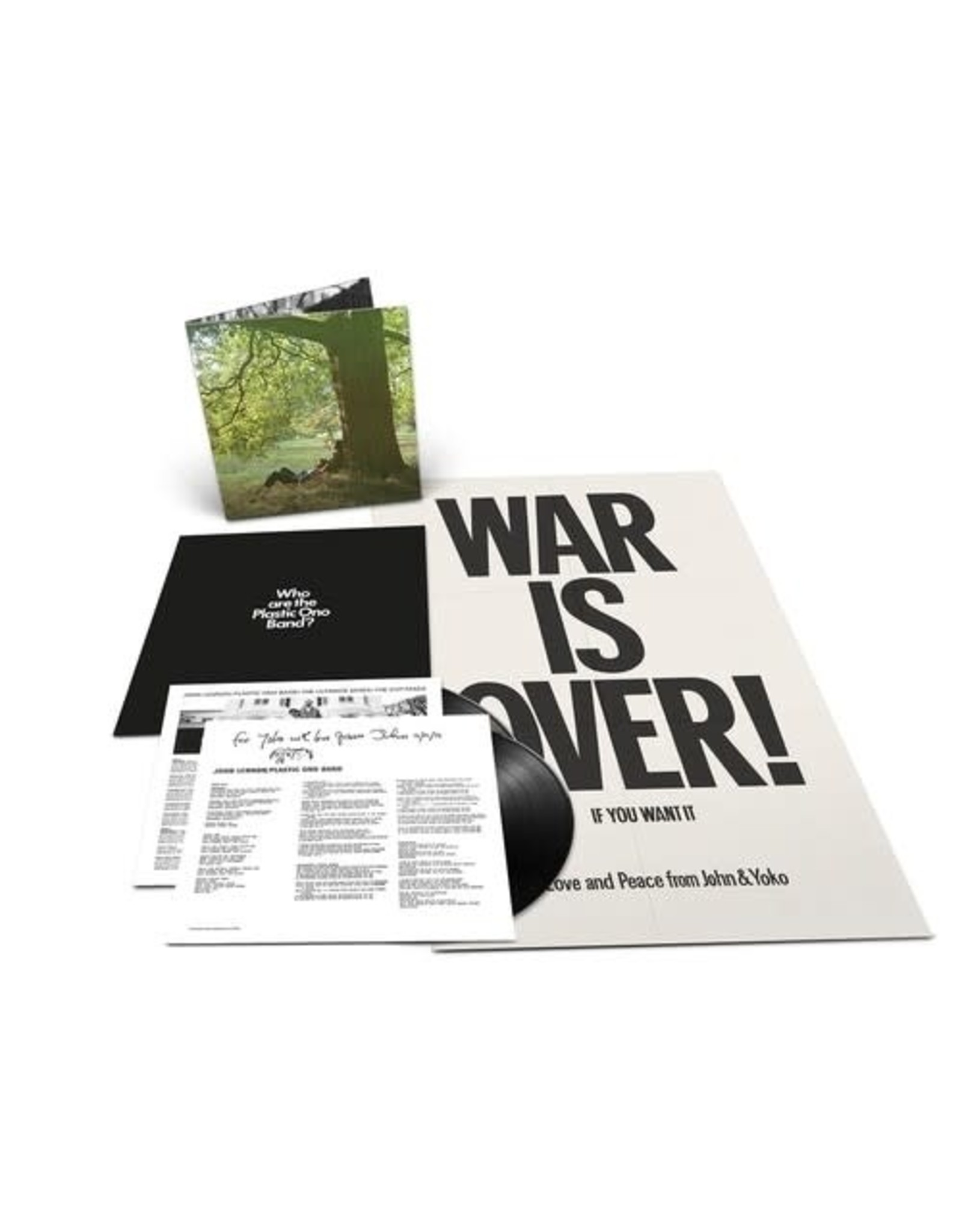 New Vinyl John Lennon / Plastic Ono Band - S/T (The Ultimate Mixes) 2LP