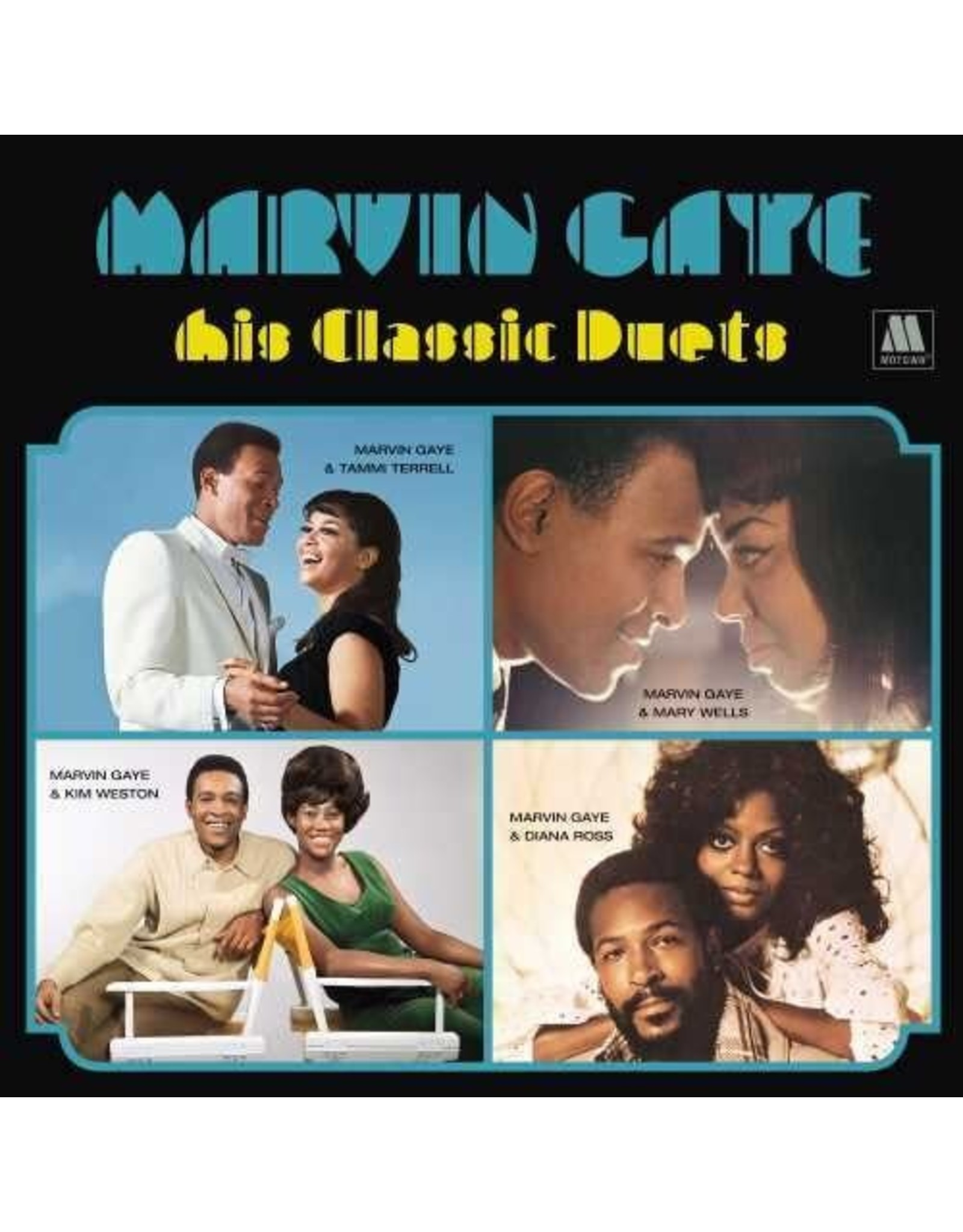 New Vinyl Marvin Gaye - His Classic Duets LP