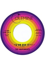 """New Vinyl The Gripsweats - G'on Use It (Colored) 7"""""""