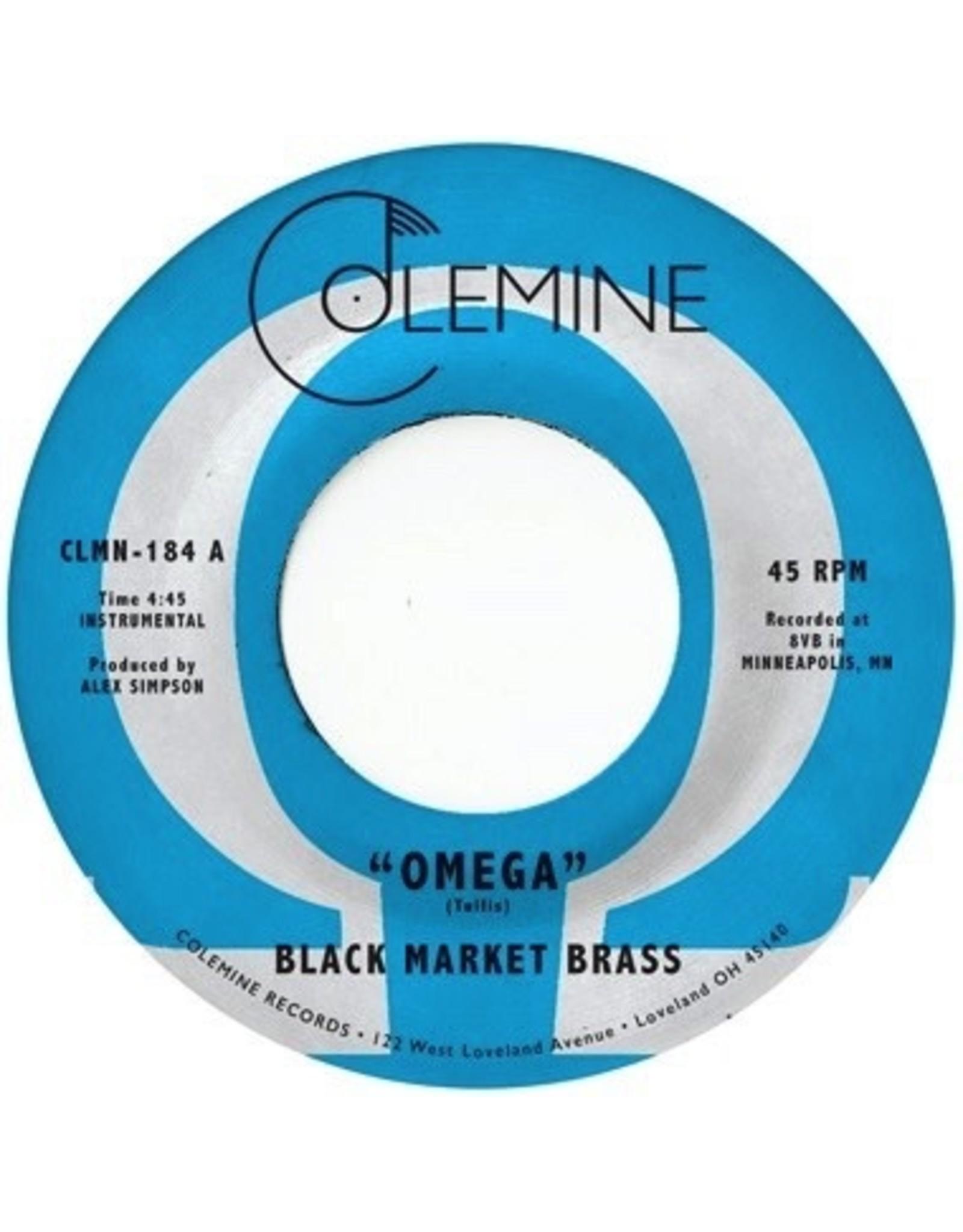 "New Vinyl Black Market Brass - Omega (Colored) 7"""