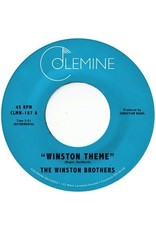 """New Vinyl The Winston Brothers - Winston Theme (Colored) 7"""""""