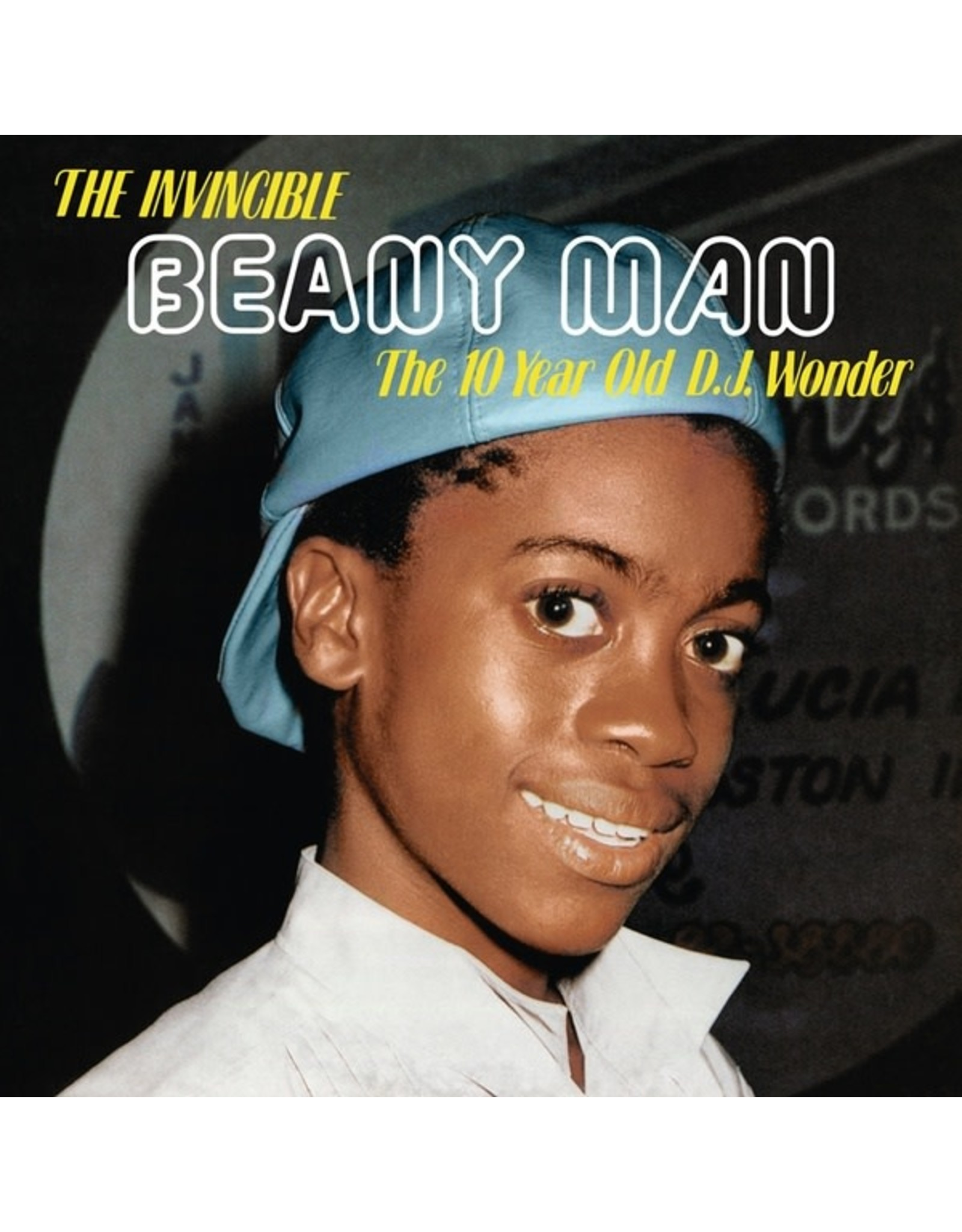 New Vinyl Beany Man - The Invincible Beany Man (The 10 Year Old D.J. Wonder) LP