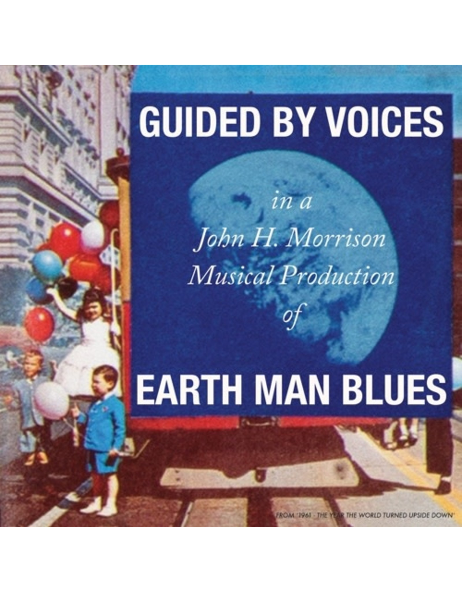 New Vinyl Guided By Voices - Earth Man Blues LP
