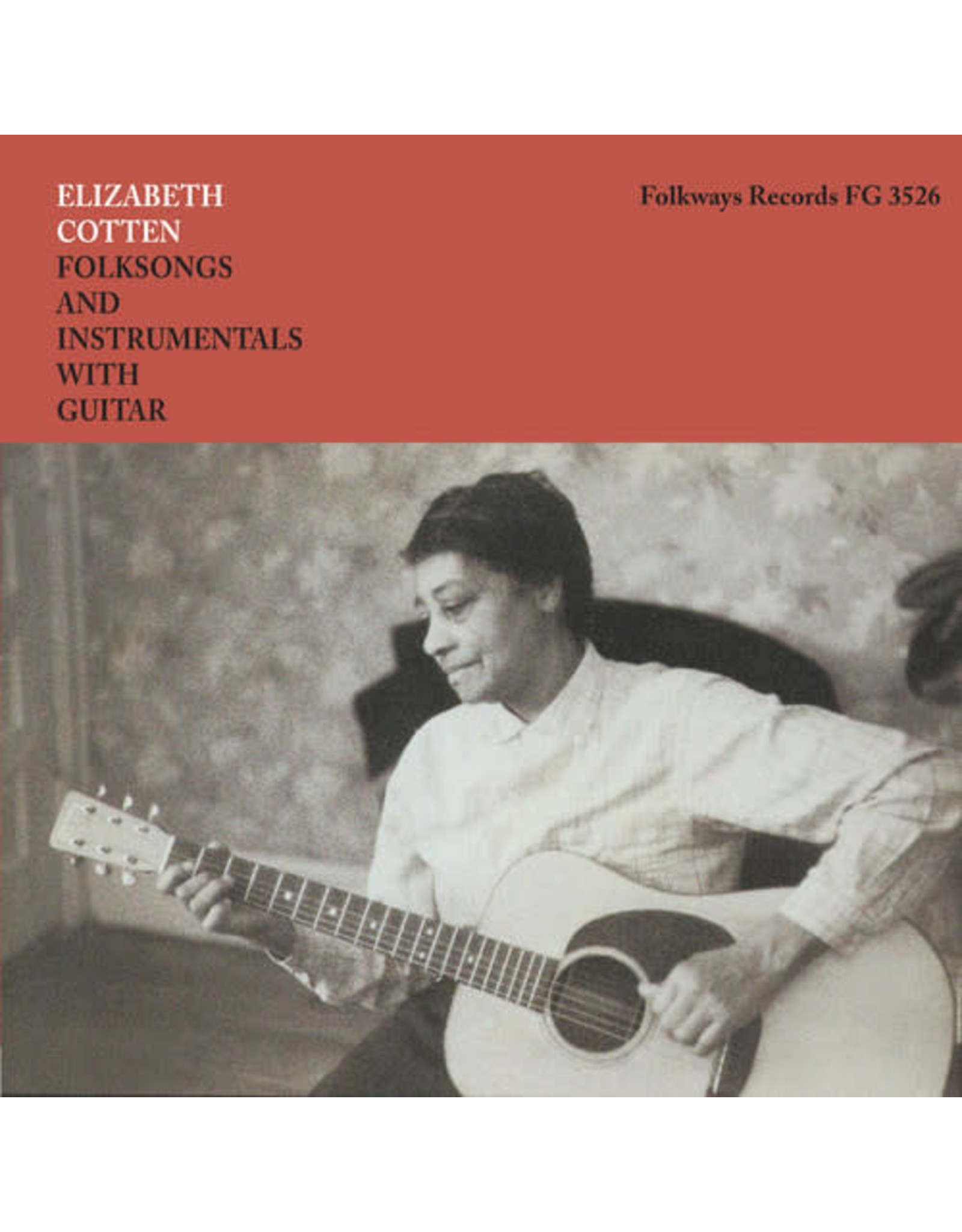 New Vinyl Elizabeth Cotten - Folksongs And Instrumentals With Guitar LP