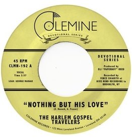 """New Vinyl The Harlem Gospel Travelers - Nothing But His Love (Clear) 7"""""""