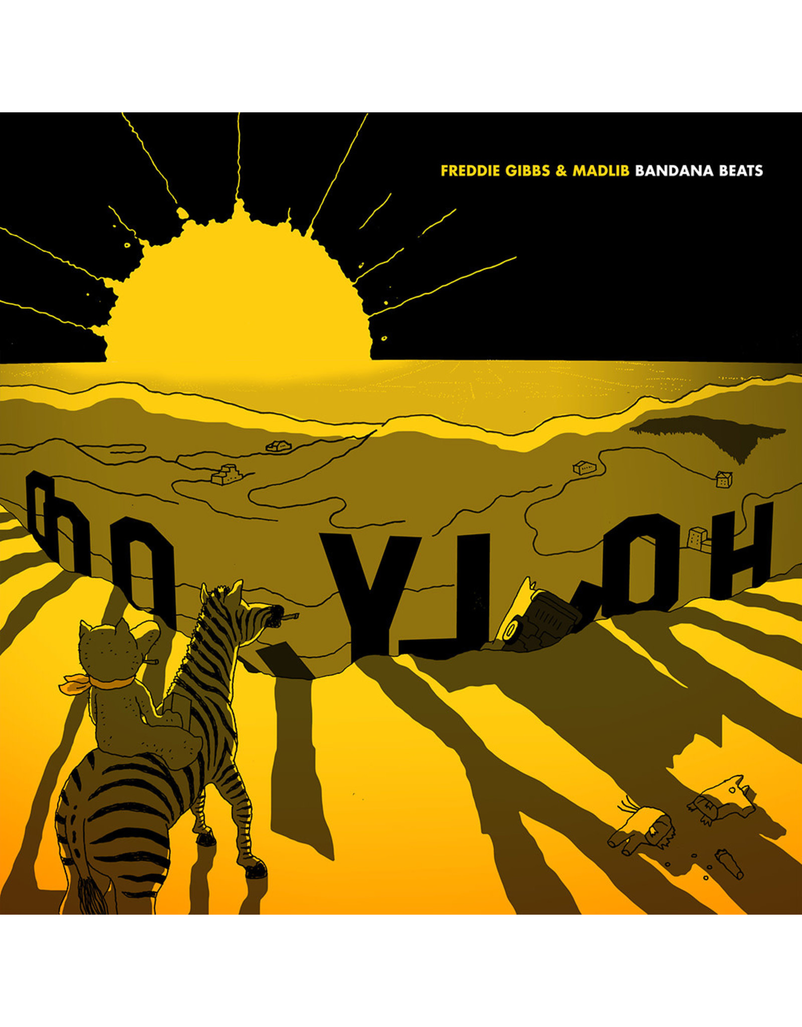 New Vinyl Freddie Gibbs & Madlib - Bandana Beats LP