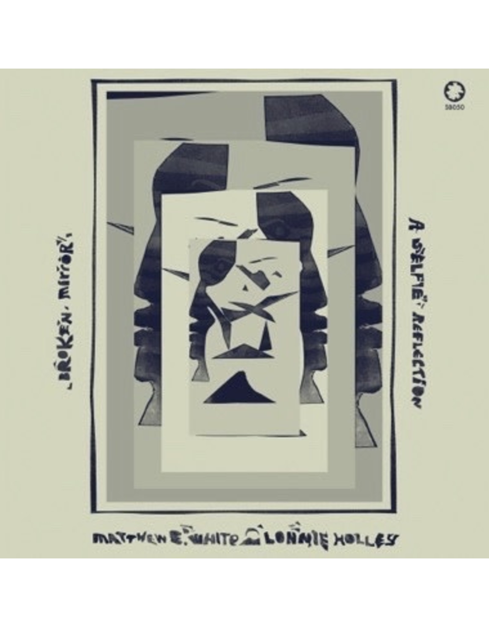 New Vinyl Matthew E. White & Lonnie Holley - Broken Mirror: A Selfie Reflection (Magenta) LP