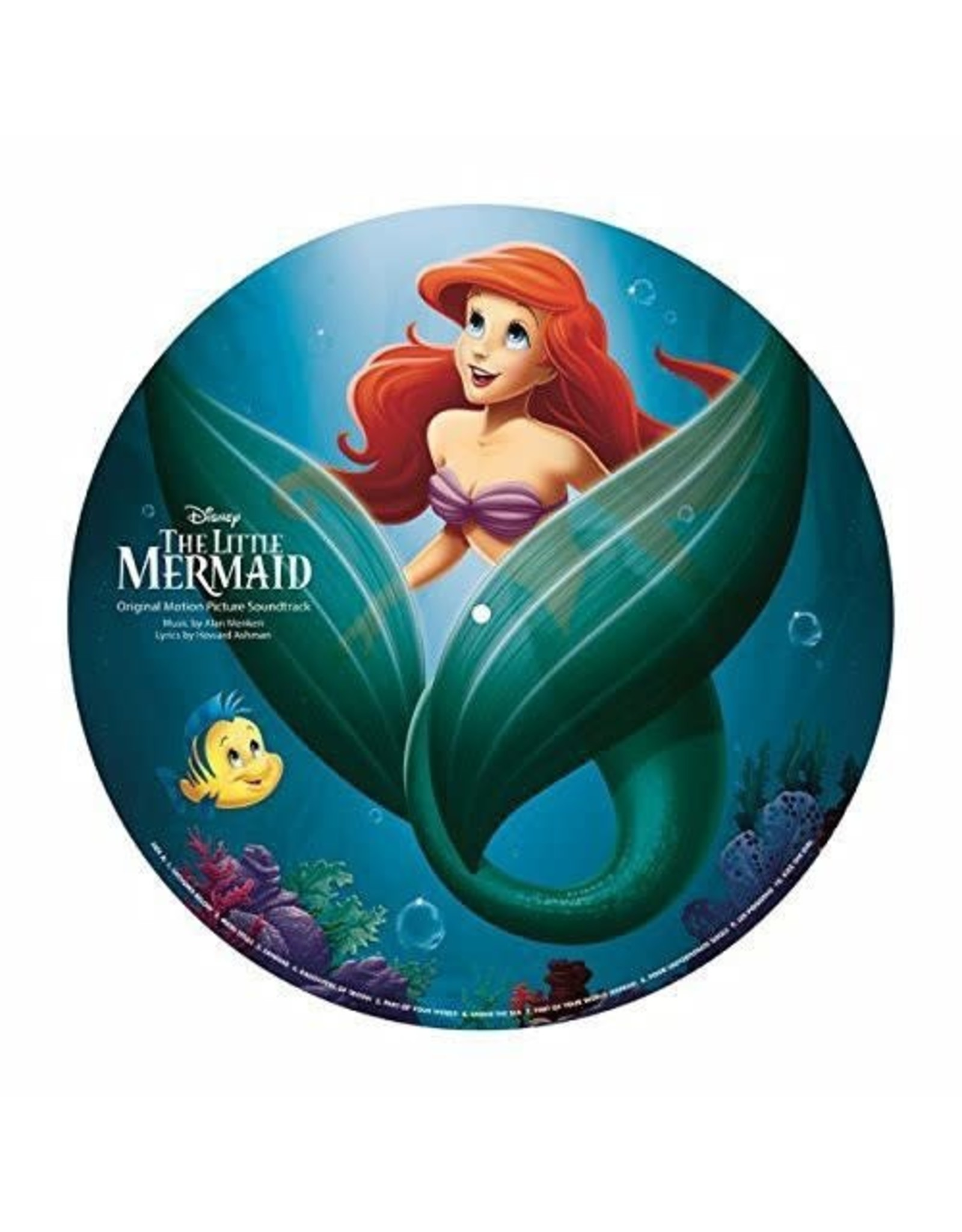New Vinyl The Little Mermaid OST (Picture) LP