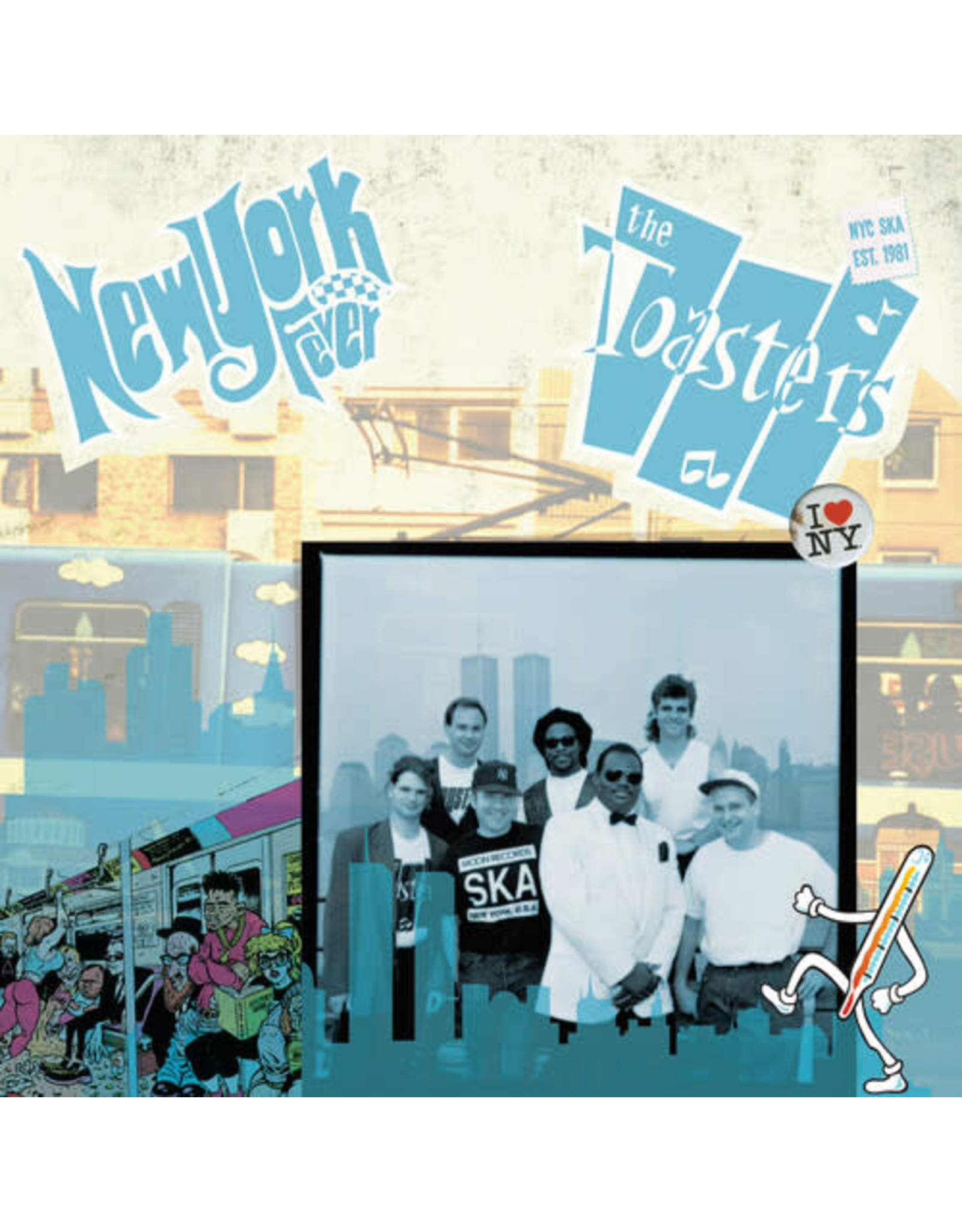 New Vinyl The Toasters - New York Fever LP