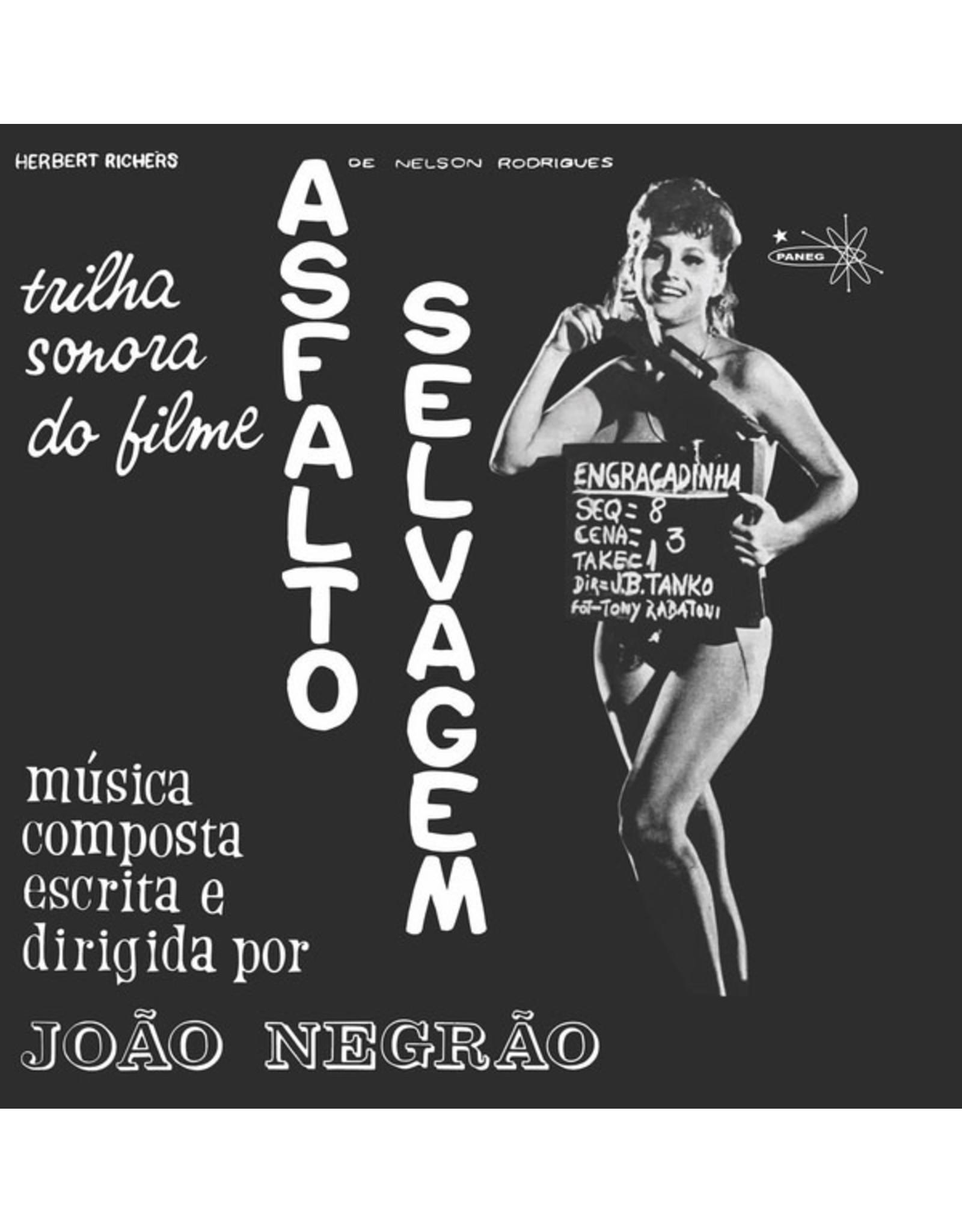 New Vinyl João Negrão - Asfalto Selvagem OST LP