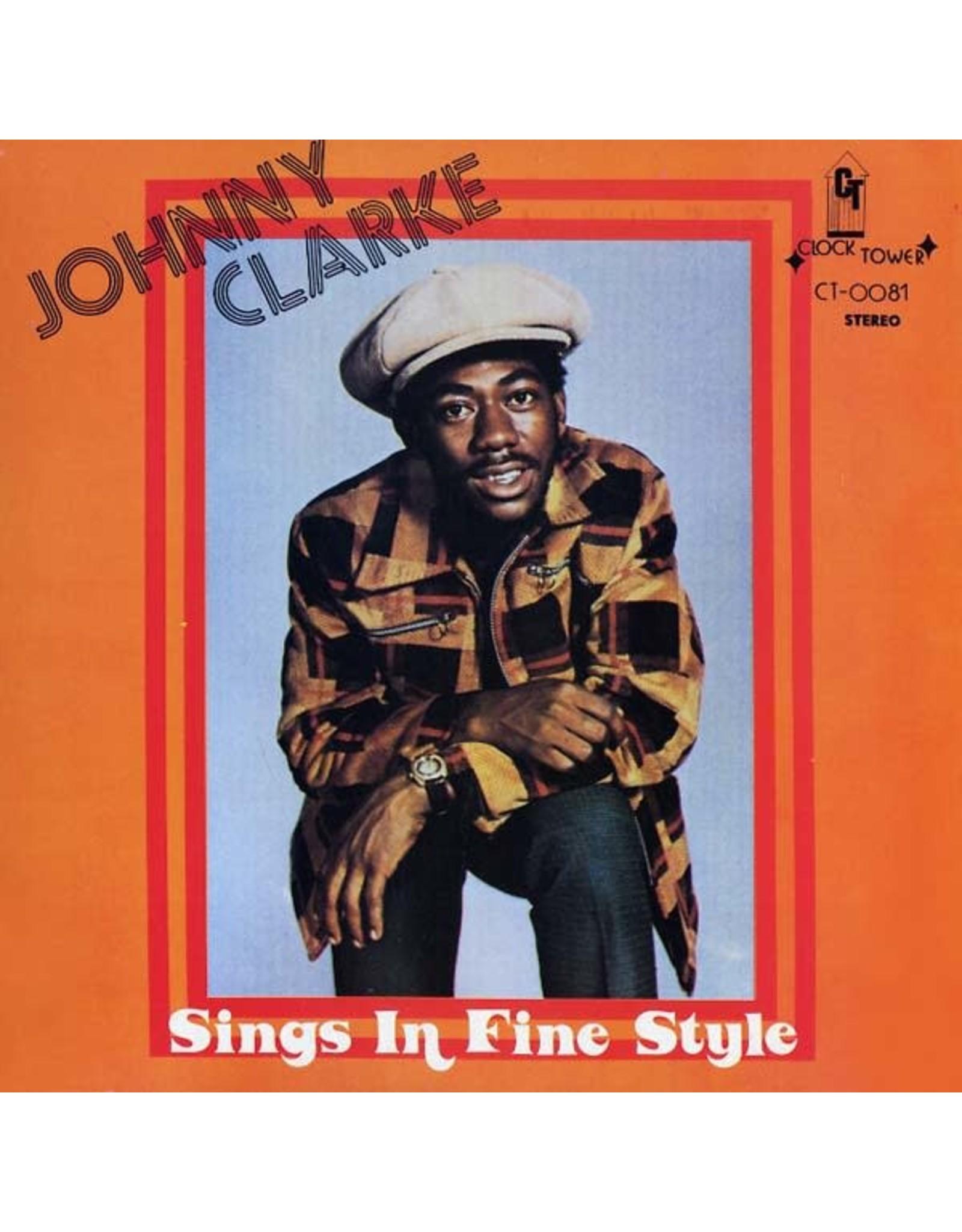 New Vinyl Johnny Clarke - Sings In Fine Style LP