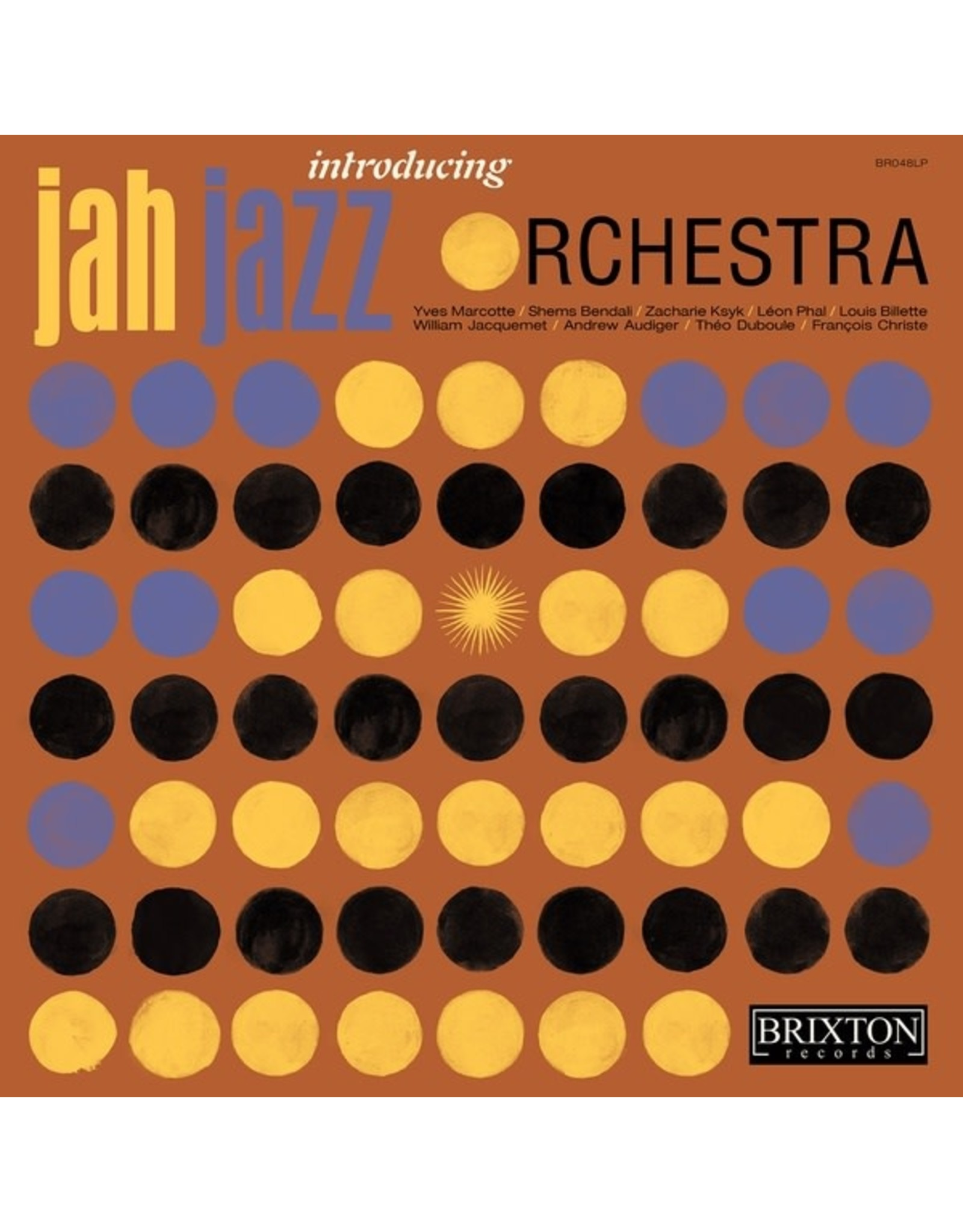 New Vinyl Jah Jazz Orchestra - Introducing Jah Jazz Orchestra LP