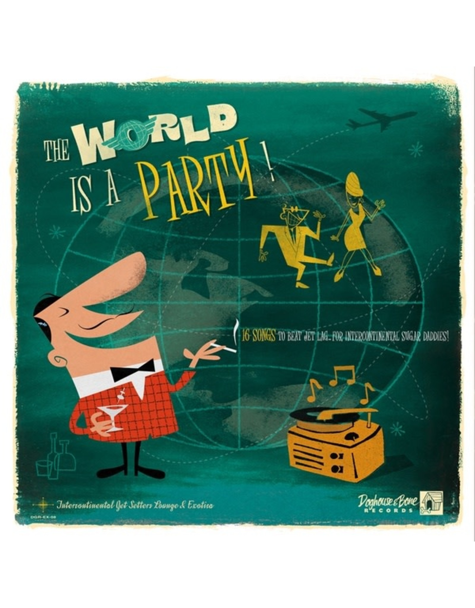 New Vinyl Various - The World Is A Party! Vol. 1 LP
